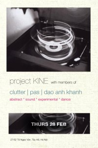 project KINE at Hanoi Rock City this Thursday evening.